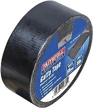 Faithfull Gaffa textieltape, 50 mm x 50 m, zwart
