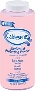 Sponsored Ad - Caldesene Medicated Protecting Powder with Zinc Oxide & Cornstarch, 5 oz (Pack of 5)