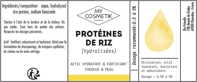 Proteína de arroz- MyCosmetik - 30 ml