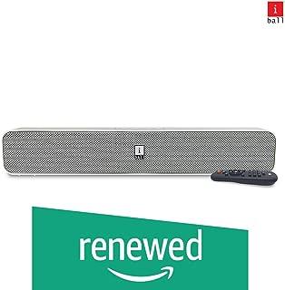 (Renewed) iBall Musi Bar High Power Compact Soundbar with Multiple Playback Options, White