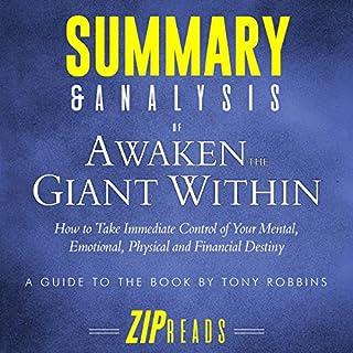 Summary & Analysis of Awaken the Giant Within audiobook cover art