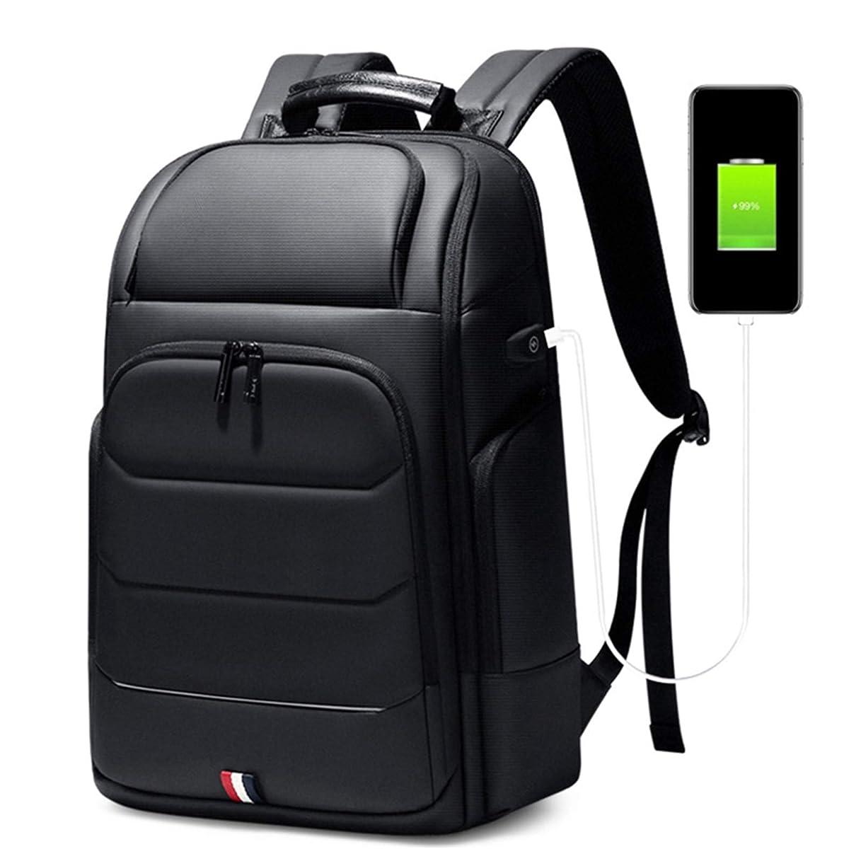 雪だるまを作る結核抽象化ラップトップバックパック ビジネスバッ メ 大容量 撥水 通勤 バックパック 【20.4インチ/軽量/USBポート搭載】旅行 鞄