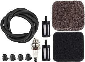 Dxent Fuel Line with Fuel Filter Spark Plug Air Filter Grommet for Stihl Leaf Blower BG75 BG72 Handheld Blowers Parts