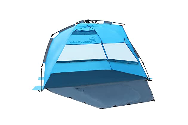 OutdoorMaster Pop Up Beach Tent - Easy to Set Up e383c4b22921