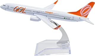 TANG DYNASTY 1/400 16cm ゴル航空 GOL Airlines ボーイング B737 高品質合金飛行機プレーン模型 おもちゃ