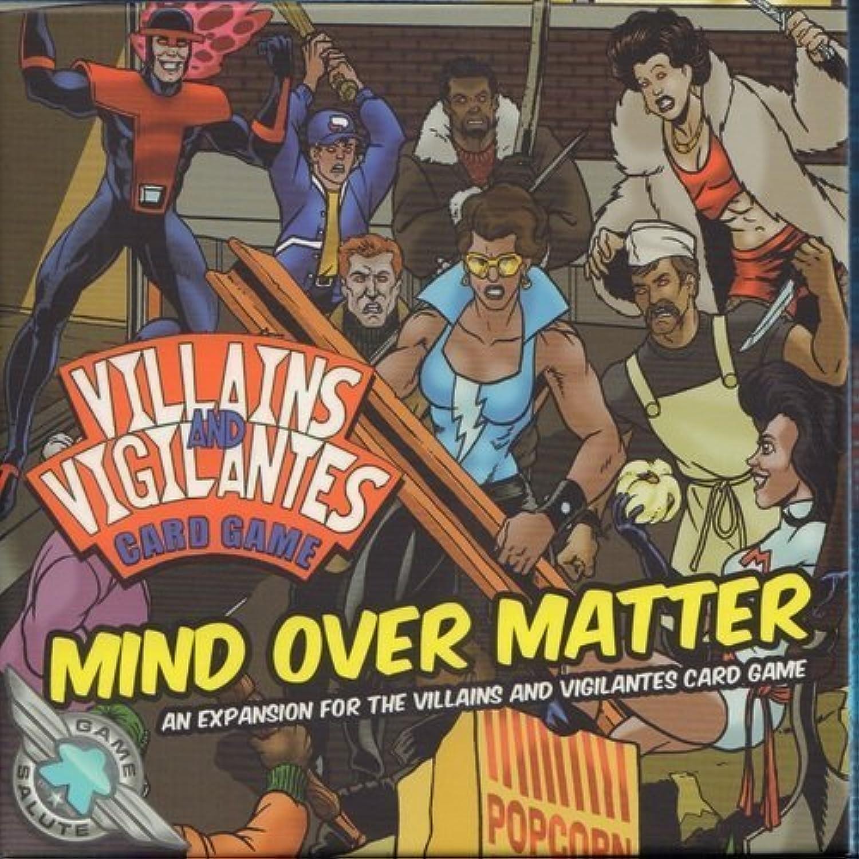 Villains & Vigilantes Card Game  Mind Over Matter by Game Salute