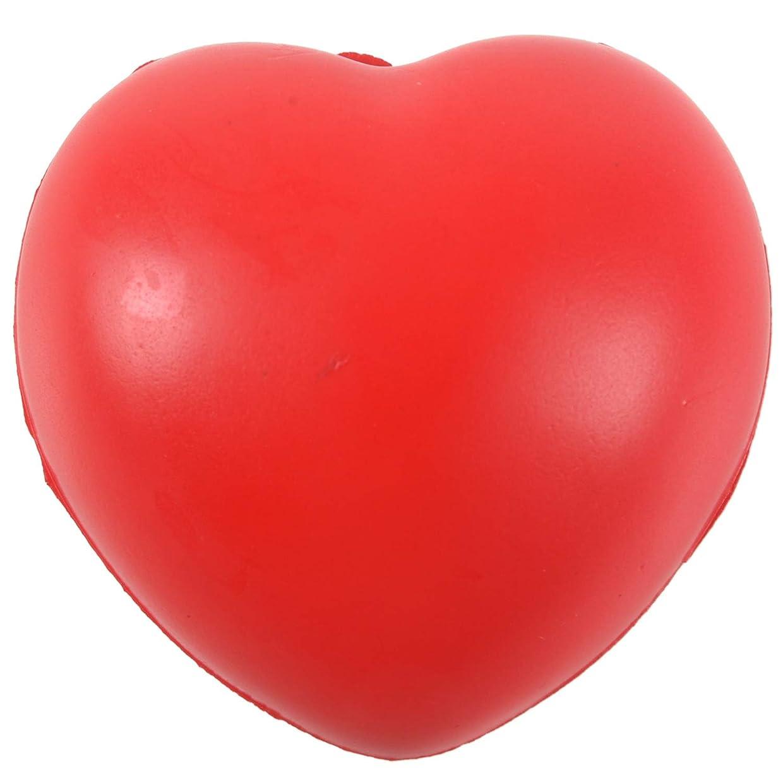 六分儀魅力的であることへのアピール定期的にRETYLY ハートのストレスリリーバーボール 赤