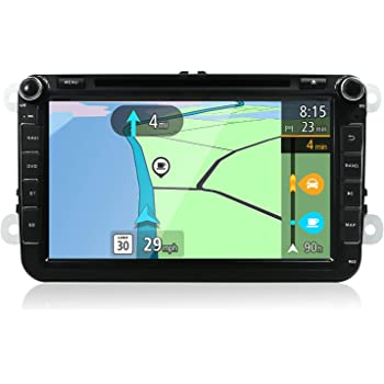 YUNTX Android 8 Autoradio Compatible con Golf/Skoda/Seat: Amazon ...