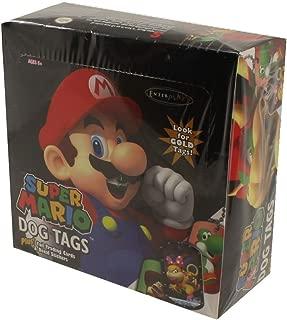 Super Mario Super Mario Dog Tag Fun Pack Box