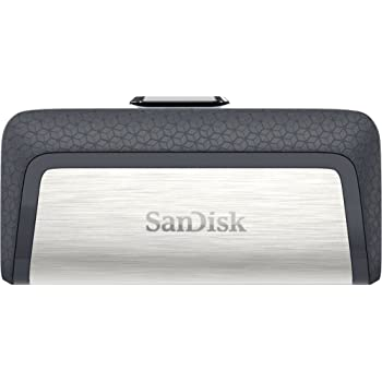 SanDisk 128GB Ultra Dual Drive USB Type-C - USB-C, USB 3.1 - SDDDC2-128G-G46,Gray