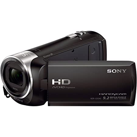 Sony Hdr Cx240e Hd Flash Camcorder Schwarz Kamera