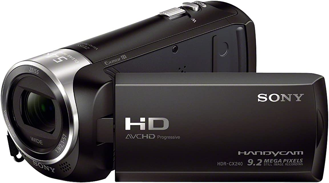 Sony HDR-CX240E - Videocámara color negro