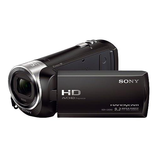 Sony HDR-CX240E - Videocámara, color negro