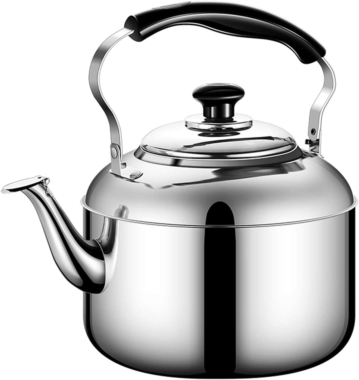Whistling Kettles Bombing new work 304 Stainless Steel Tea Soldering Kettle Capacity Large
