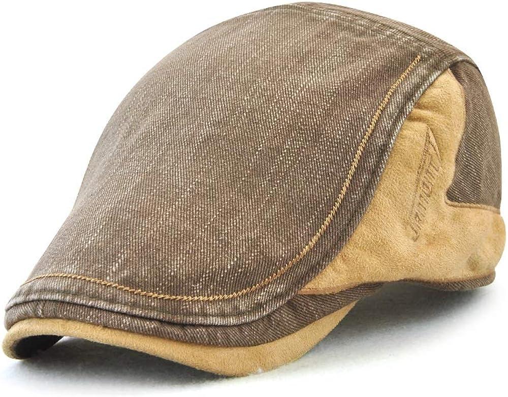 Aodrusa Mens Cotton Flat Ivy NEW Direct sale of manufacturer Newsboy Hat Driving Cap Gatsby