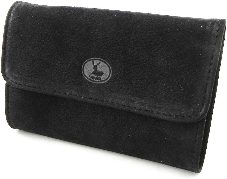 [On SALE   SOLDES  ]   Leather wallet  Frandi  black nubuck.