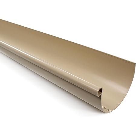 sable Collier lyre pour tube de descente PVC /Ø50 First Plast Goutti/ère PVC 16 demi-ronde