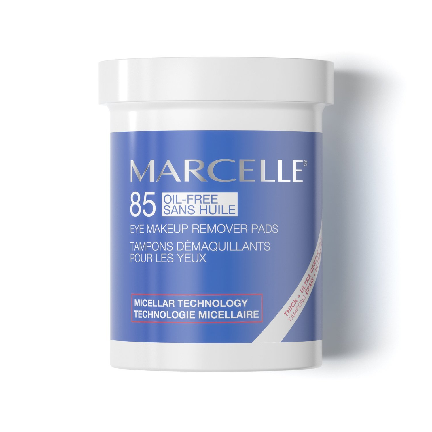 Marcelle Oil-Free Eye Makeup Remover Pads, 85 Pads : Beauty
