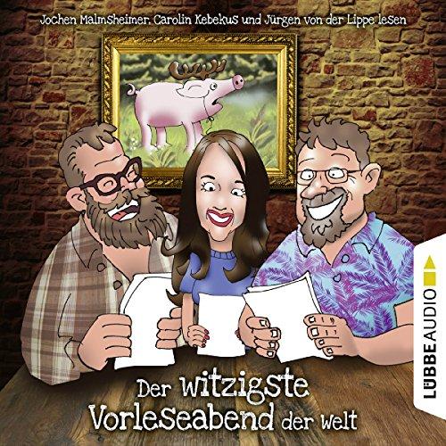 Page de couverture de Der witzigste Vorleseabend der Welt