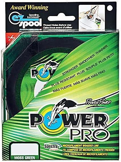 Power Pro Spectra Fiber Braided Fishing Line Moss Green 300YD//65LB