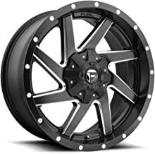 FUEL Renegade NBD-Matte BLK MIL Wheel with Painted (20 x 9. inches /8 x 165 mm, -18 mm Offset)