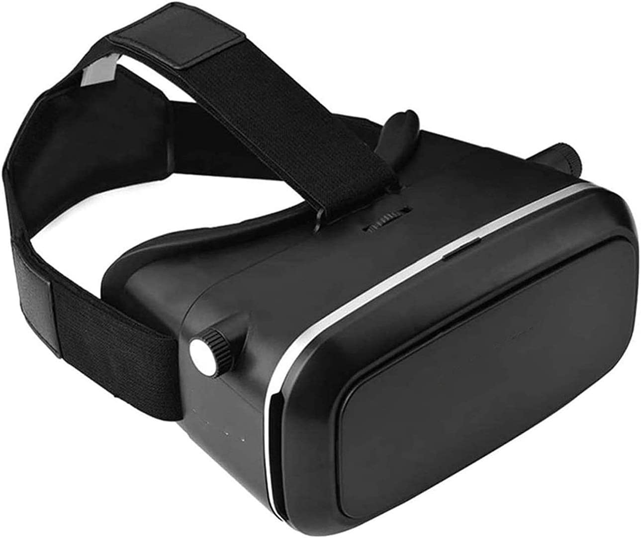 Bdesign Smart Virtual Reality Glasses,Virtual Reality Headset 3D VR Goggles Glasses for 3D Movies Compatible for 4.7-6.0 Inches iOS Android Smartphones