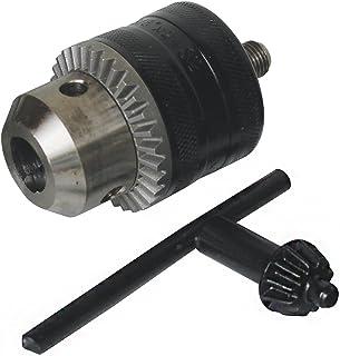 BLACK & DECKER X66301-QZ - Portabrocas ø 13 mm + llave. Rosca macho. 3/8