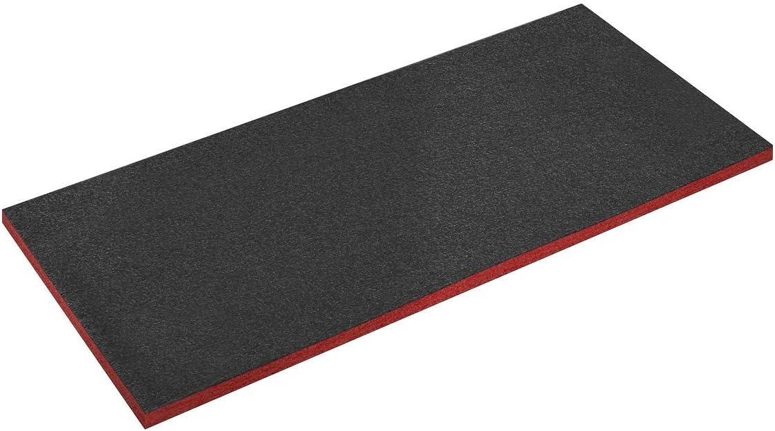 Sealey SF30RSF30R 1200 x 550 x 30 mm, Espuma de Sombra fácil de despegar, Color Rojo y Negro, Rosso, 30 mm