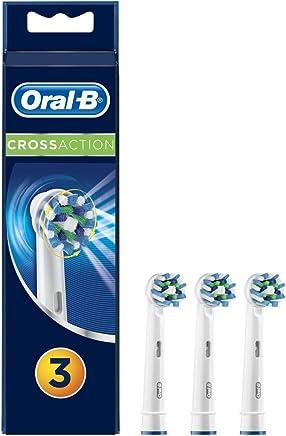 Oral-B CrossAction Cabezal de Recambio Para Cepillo de Dientes Eléctrico 3Unidades