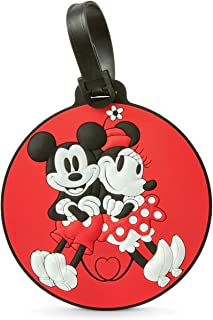 American Tourister Mickey Minnie Kiss Travel Accessory Luggage ID Tag