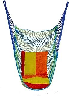 Gym Kingdom Swing Outdoor Wilderness Net Mesh Swings Camping Nets Bed Indoor Home Dormitory Chair Swings Adult Children Hammock Lightweight Swings (Color : Green, Size : 39.37 * 51.18inchs)