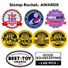 Stomp Rocket The Original Dueling Rockets Launcher, 4 Rockets and Toy Rocket Launcher - Outdoor Rocket STEM Gift for Boys and Girls Ages 5 Years and Up - Great for Year Round Play #5