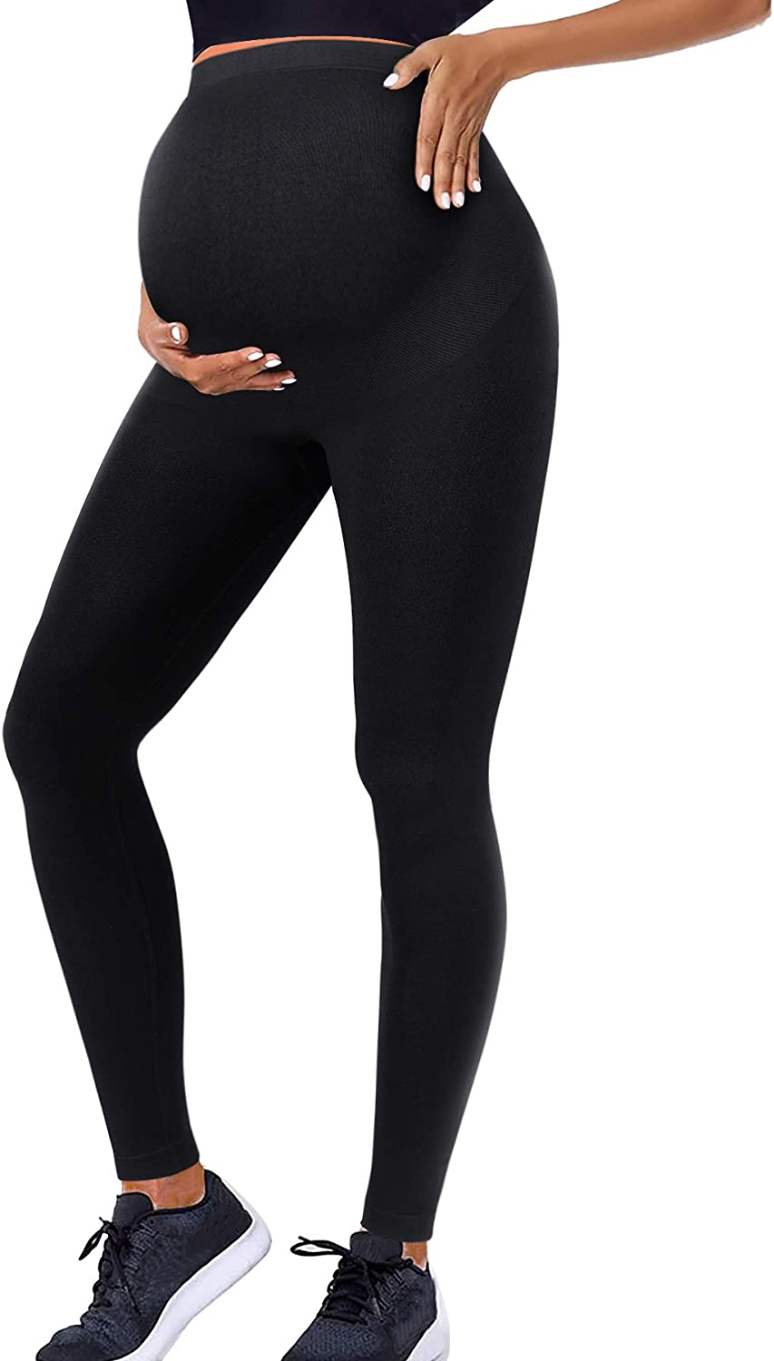 Irisnaya Maternity Leggings for Brand new Women Support Pregnancy Belly ! Super beauty product restock quality top! Pa