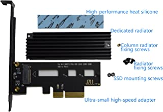 Hasta 3300M/s PCI-E 4X para M.2 SSD ADAPTER SM961 XP941 SM951 950Pro Versión de enfriamiento