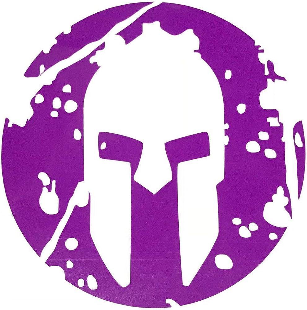#1 Spartans Fan Bumper Sticker Waterproof Customize Your Colors