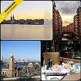 –Faros de viaje viajes de 4días en Hamburgo en el Hotel Ángel * * * *–cupones kurzreise Viajes viaje regalo