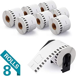 Airmall 8 Rolls Compatible with DK-2205 Continuous Labels Paper, Cut-to-Length Label, 2-3/7