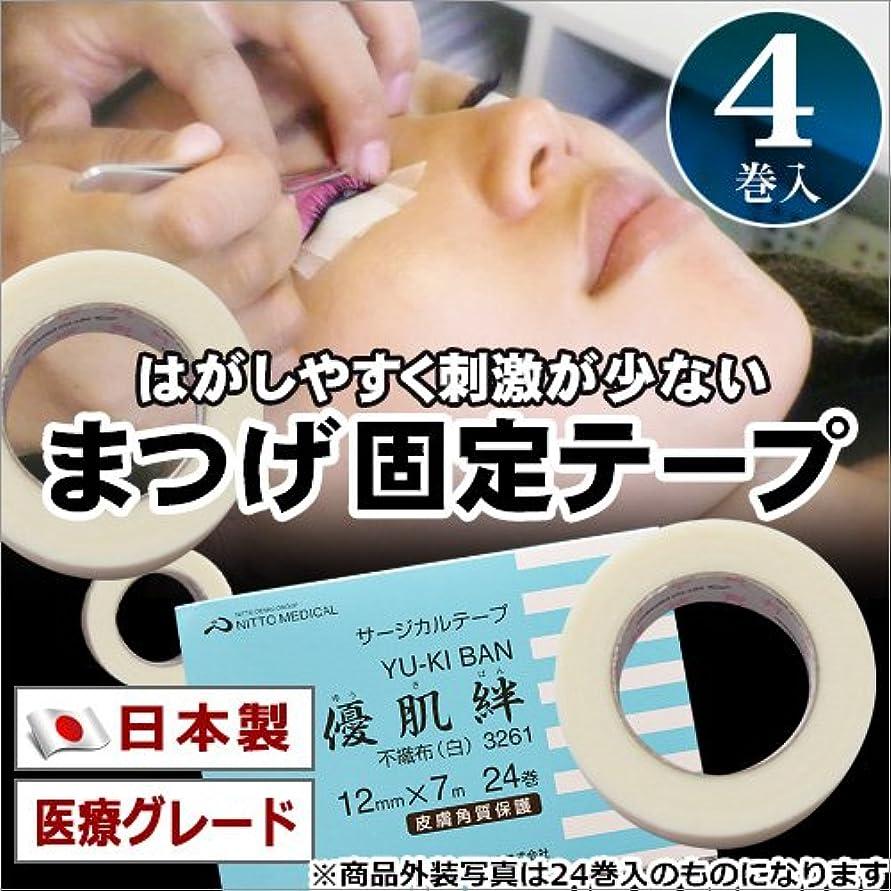 レパートリー架空の契約する日本製 医療グレード アイラッシュテープ(まつげ固定テープ)4巻