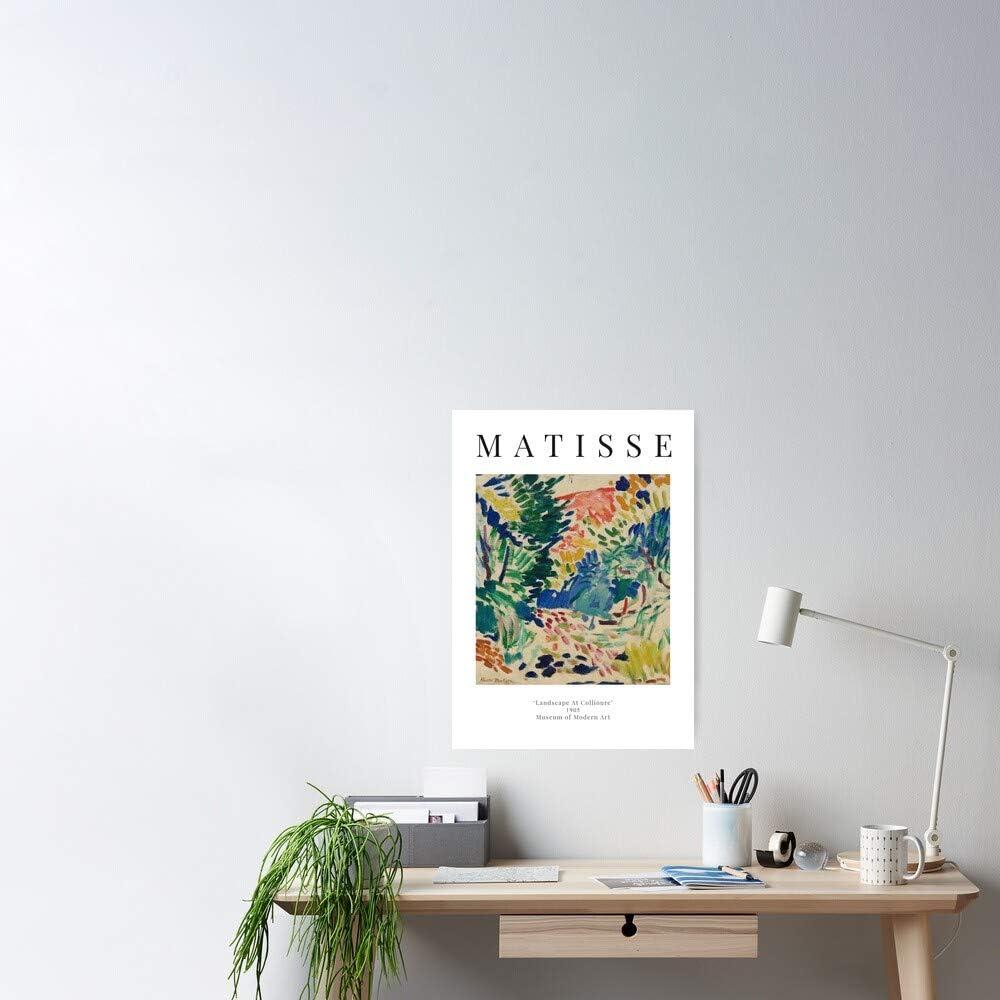 AZSTEEL Henri Matisse   Landscape at Collioure Exhibition Poster ...