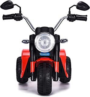 COSTWAY Correpasillos Moto Eléctrico Infantil con Batería