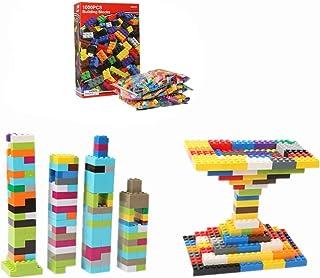 Mumoo Bear 1000 Pcs Building Blocks Set Children Education Toy Multicolor Assemble Toy Gift for Kids