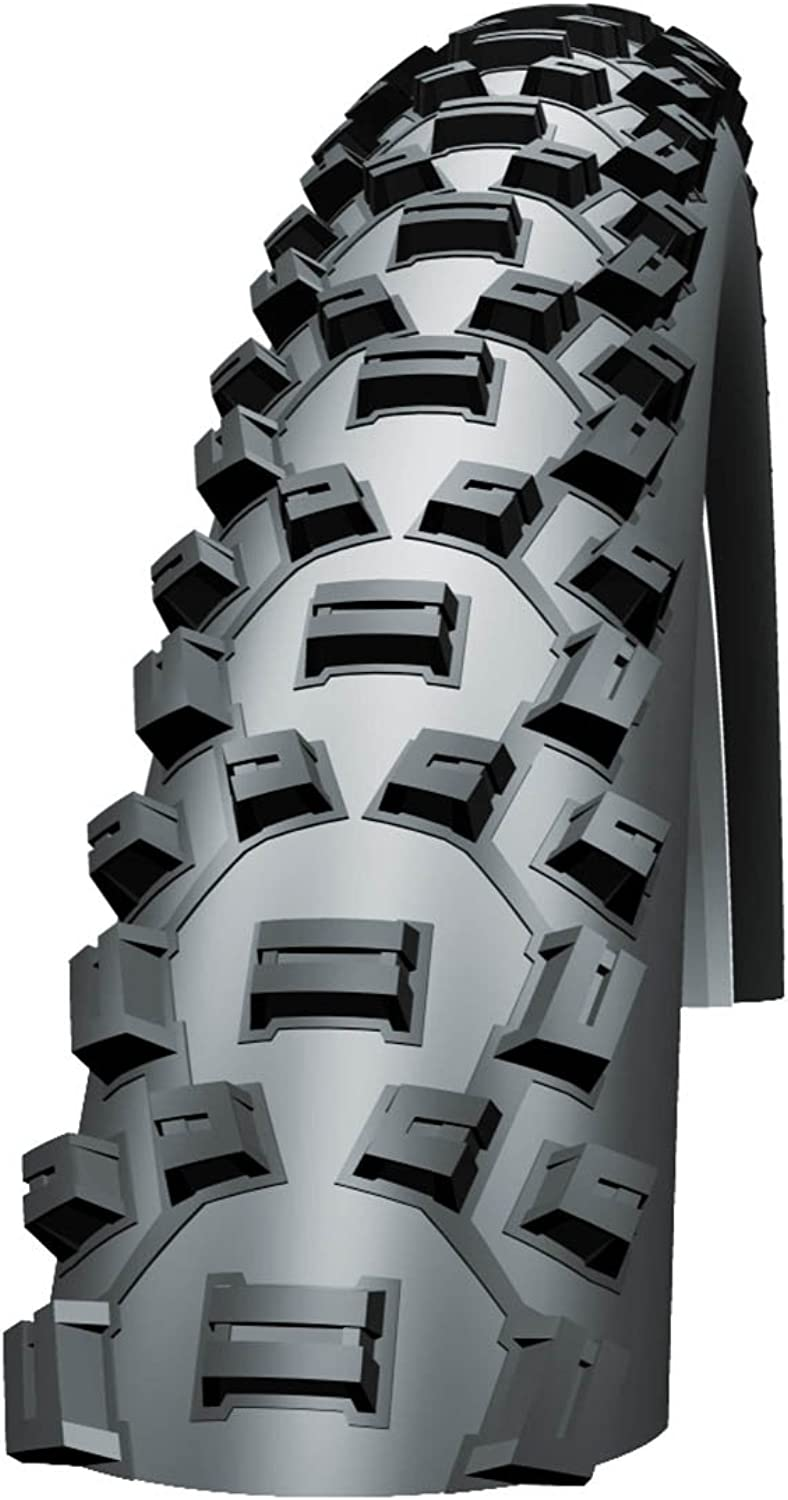 Schwalbe Nobby Nic HS 365 Knobby Mountain Bike Tire, 26Inch x 2.1Inch, Evo Folding, Black Skin