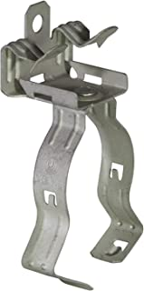 Phoenix F2-4 C8-12 Flange Clip with Conduit clamp Assembly, Hammer on, Spring Steel, 1/8