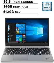 Lenovo 2019 ThinkPad E590 15.6 Inch FHD Laptop (Intel Quad-Core i7-8565U up to 4.6 GHz, 16GB RAM, 512GB SSD, Intel UHD Graphics 620, Bluetooth, WiFi, HDMI, Win 10 Pro) (Silver)