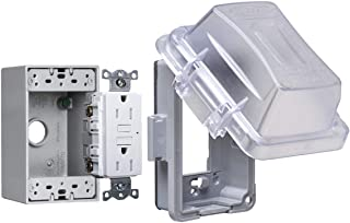 Taymac MKG420CS Bell 1-Gang Horizontal Or Vertical Mount Weatherproof Extra Duty While in Use Cover Kit