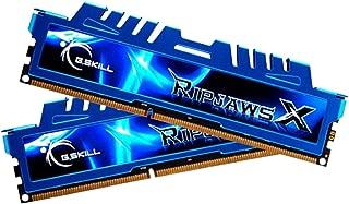 G.SKILL Ripjaws X Series 16GB (2 x 8GB) 240-Pin DDR3 SDRAM DDR3 2400 (PC3 19200) Desktop Memory Model F3-2400C11D-16GXM