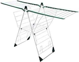Sechoir à linge étendoir Séchage pliable Vêtements Vêtements Airer Extensible Wings Easy Storage Serviette Cinker Luge de ...