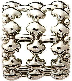 RING2-N Chrome Finish Ring - Liquid Metal by Sergio Gutierrez