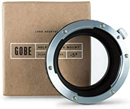 Gobe Lens Mount Adapter: Compatible with Canon EOS (EF/EF-S) Lens and Micro Four Thirds (M4/3) Camera Body