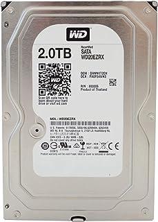 Western Digital Caviar Green Desktop 3,5'64MB Cache SATA-600Festplatte, HDD–Recertified 2To